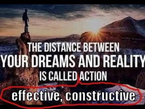 dream-reality-effective-action