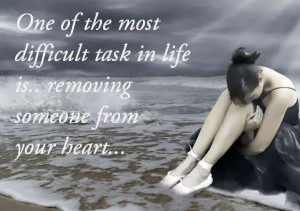 remove someone from your heart
