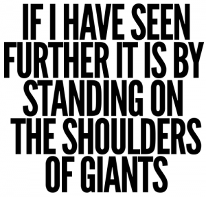Why those giants became giants and not you?