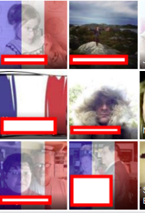 Covering your facebook avatar with the tricolor French flag: what does it mean about you?