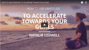 Natalie Ledwell and mInd movies pretending to have gratitude