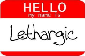 Why do you feel lethargic… Part 2