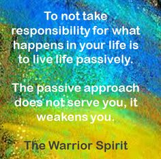 Take back your life… Take back your power… The value of proving that you can