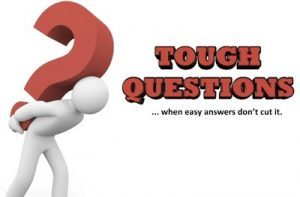 More Tough Questions for Self-Examination. Promised Results? Awakening? Quickening?