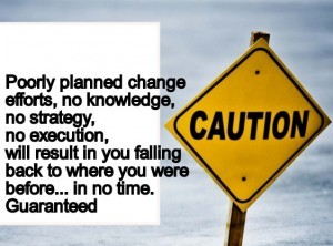 How to manage yourself for change?