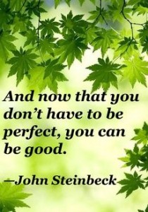You are not perfect. Now what?