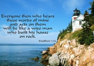 Build your house on rock: Starting from what is, instead of a delusion