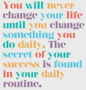 your-daily-routine